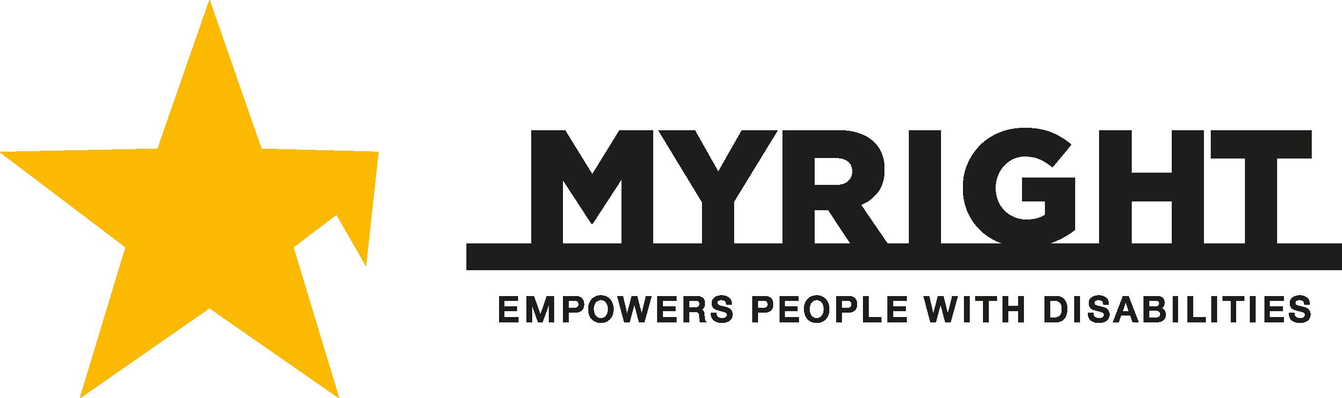 MyRight logotyp
