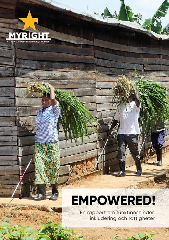 Omslaget av rapporten Empowered