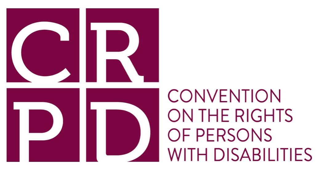 Logotyp för konventionen CRPD