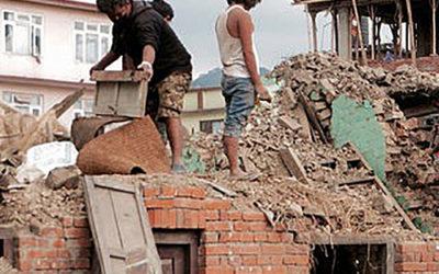 Jordbävningen i Nepal