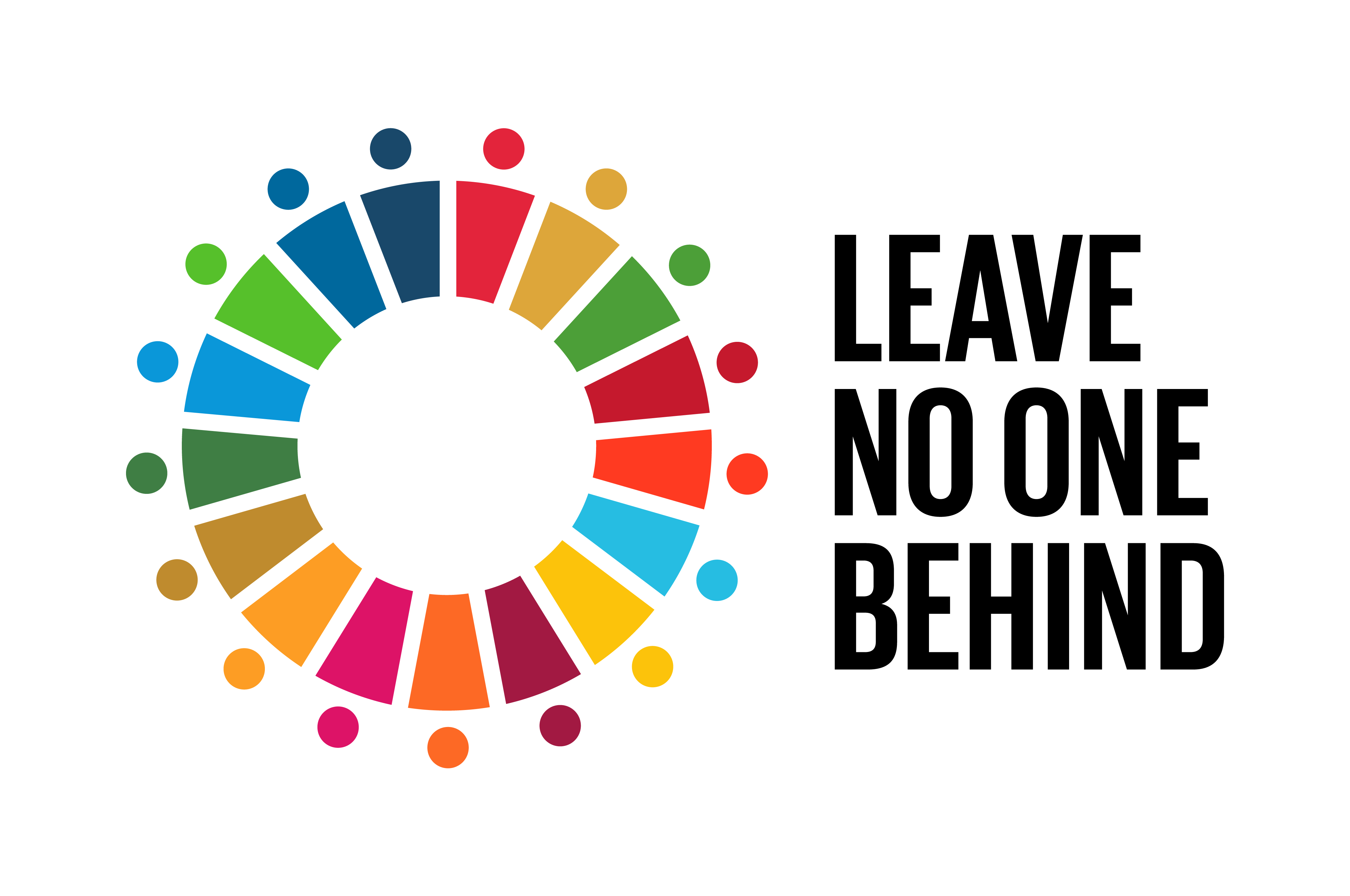 Logo for Leave no one behind