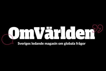 Logotyp för Omvärlden